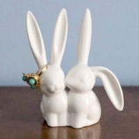 (26) Fancy - Bunny Rabbit Ring Holder | Gifts | Pinterest