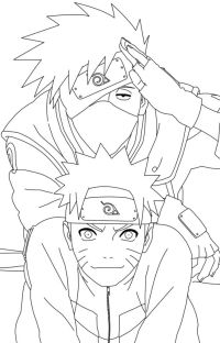 Free anbu naruto coloring pages