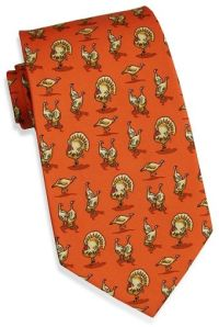 Turkey Trot Tie for Thanksgiving | The Business Closet ...