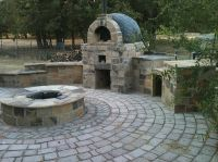 combination fire pit and pizza oven | If I Ever Live On ...