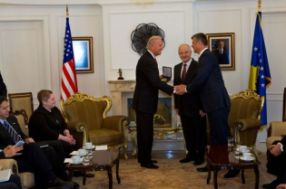 Vice President Joe Biden Is Awarded The Gold Medal Of Freedom By
