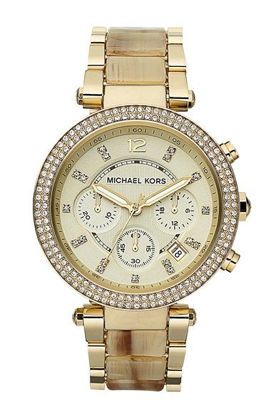 Michael Kors Parker Chronograph Watch Mm Available At Nordstrom