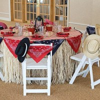 Western table setting | Party Ideas | Pinterest