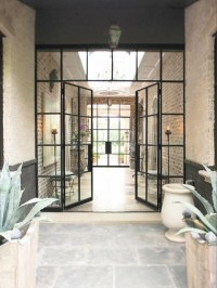 Steel / glass door | Glass&steel | Pinterest