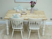 Lovely Shabby Chic Kitchen Table and 4 Chairs painted in ...