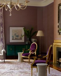 Mauve Living Room | Color = Mauve | Pinterest