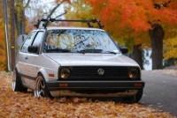mk2 ft. roof rack | VW Golf MK2 | Pinterest
