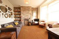 Exposed brick living room | Living Room ideas | Pinterest