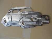 1939 ford coupe metal wall art | Metal Art - Car | Pinterest