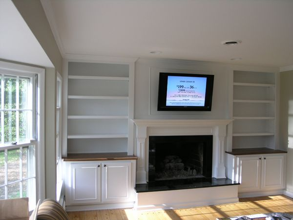 Built In Bookshelves Around Fireplace Built In Bookshelves Around Fireplace | Interior Design
