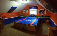 Florida Gator Bedroom | GOOOO GATORS  | Pinterest