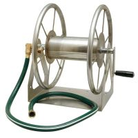 Multi-Purpose Stainless Steel Hose Reel | Garden Hardware ...