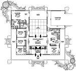 Prairie Floor Plans With Courtyard