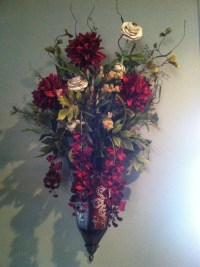 Wall flower sconce | For the Home | Pinterest
