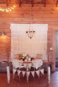 Sweetheart Table   Country Chic/Rustic Weddings   Pinterest