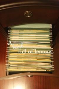 Organizing my filing cabinet! | Organize It & Save It ...