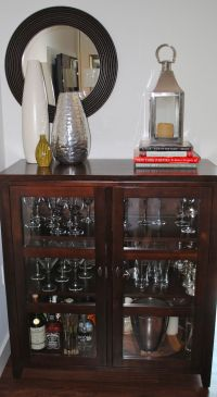 FH Decor Idea: Liquor Cabinet | Liquor cabinet ideas ...