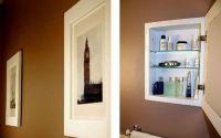 hidden medicine cabinet behind a picture | Renovate ...