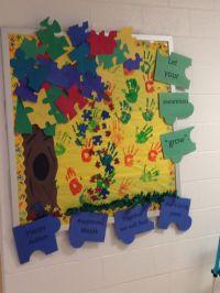 autism awareness bulletin board/classroom door --- http ...