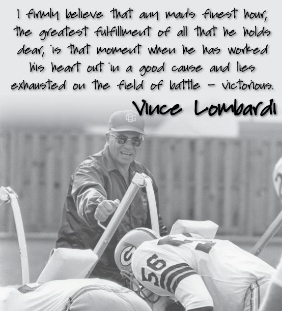 Football Coach Quote Wallpaper Vince Lombardi Inspirational Quotes Quotesgram