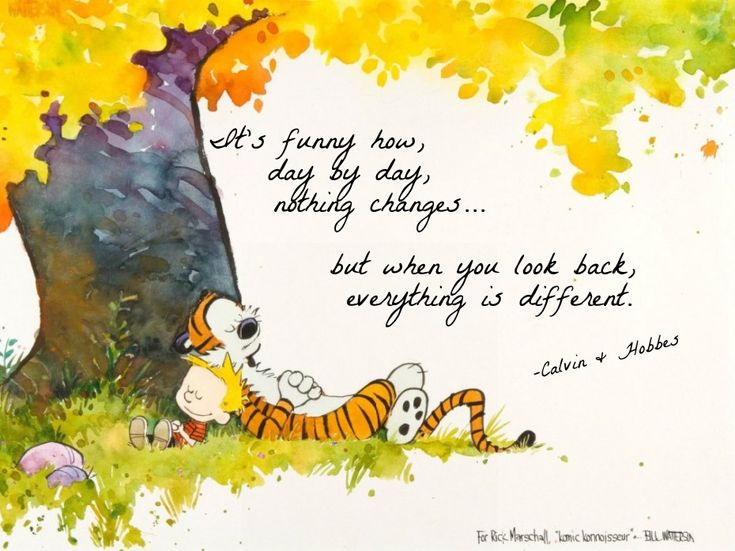 Calvin And Hobbes Fall Wallpaper Calvin And Hobbes Quotes On God Quotesgram