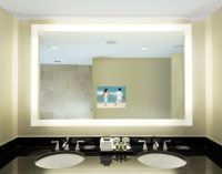 Bathroom Mirror TV | Dream Spaces | Pinterest