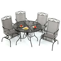 Wrought Iron Patio Furniture | Old Time Pottery | Pinterest