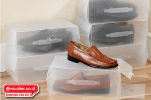 Kotak Sepatu Transparan Mulai Rp Evoucher Co Id Promo