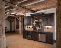 Rustic basement bar   Home Decorating   Pinterest