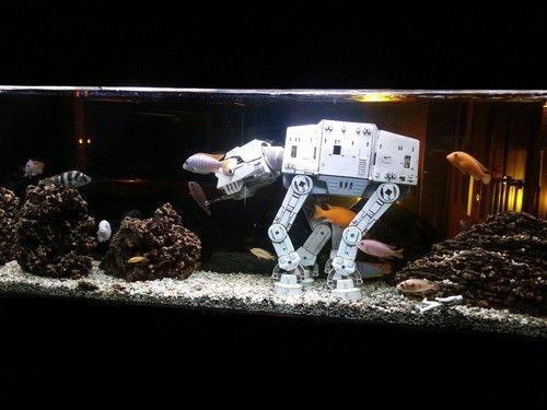 star wars fish tank accessories |   Star Wars Aquariums