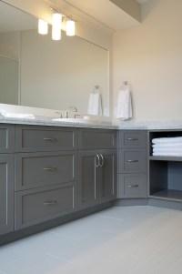 Cabinet paint color | bathroom ideas | Pinterest