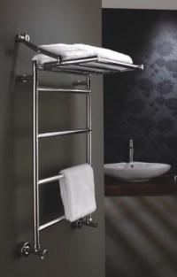 Heated towel rack. | bathroom | Pinterest