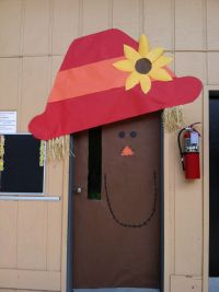 Scarecrow door decoration | Simply Starting Second Grade ...