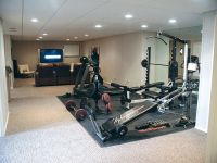 home gym in basement | Home gym | Pinterest
