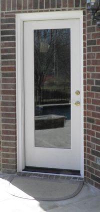 Exterior full glass door | Remodel Ideas Mom's house ...