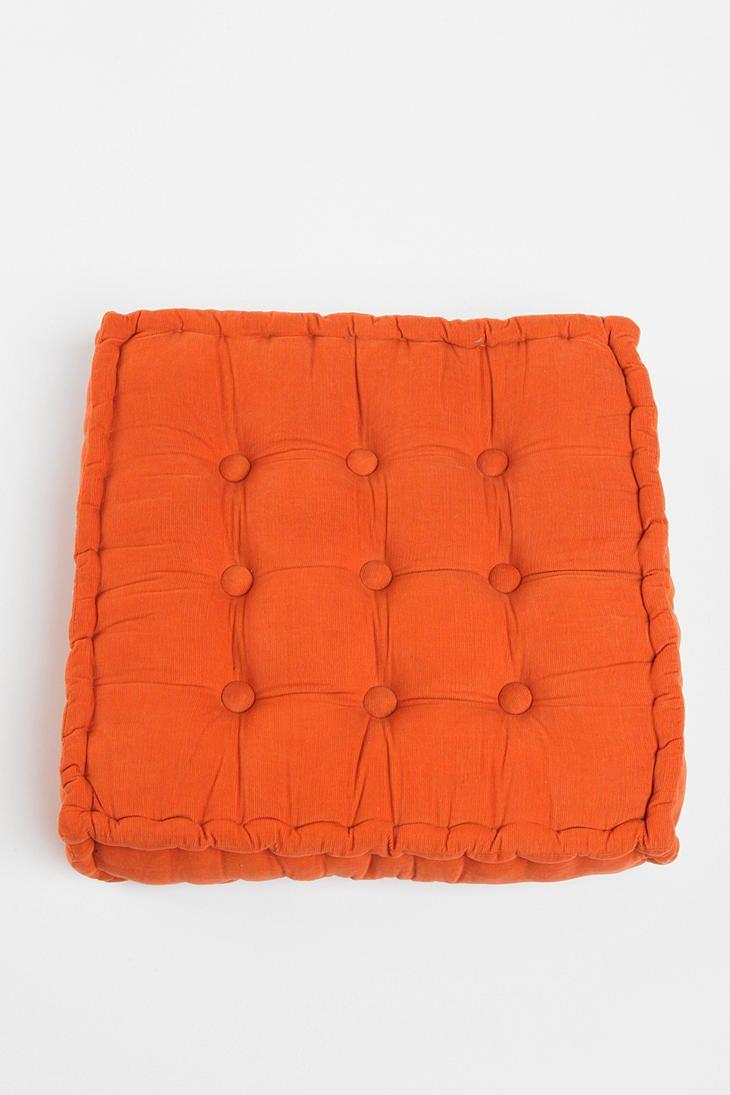 Tufted Corduroy Floor Pillow