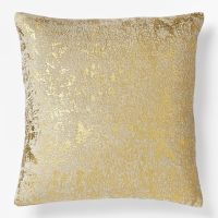 Gold throw pillow {West Elm} | Weddings and homes | Pinterest