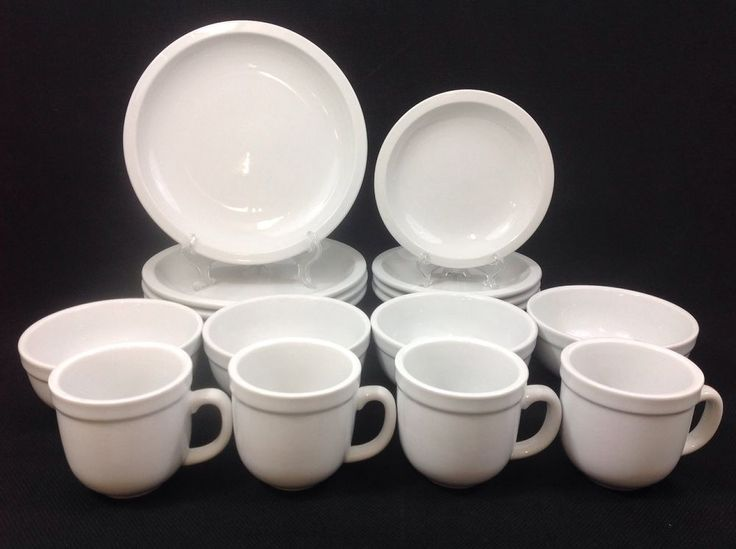 Pottery Barn Suppertime 16 Piece Dinnerware Set For Four