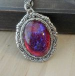 Dragon S Breath Jewelry Fire Opal Victorian Jewelry By Pinksgirl