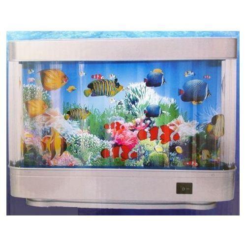 Living Aquarium Moving Light UP Motion Fish Tank Lamp NO Water   eBay
