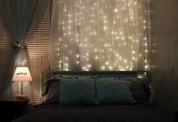 Bedroom Twinkle Lights   That's crafty.   Pinterest