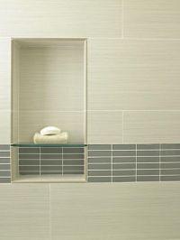 Recessed Shower Shelf | New Home LUV | Pinterest