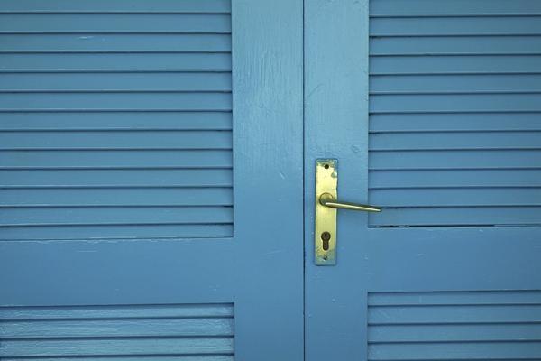 repurpose bifold doors