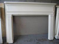 simple fireplace mantel   Fireplace ideas   Pinterest