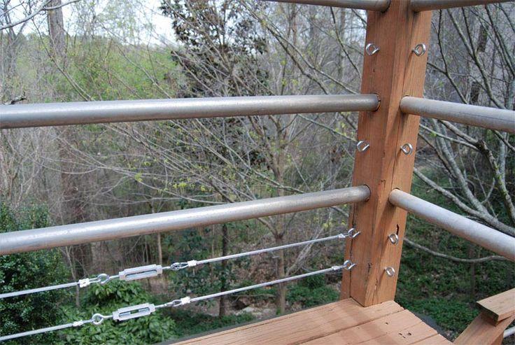 DIY tension cable railing 3