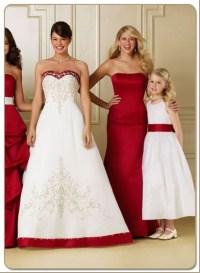 claret bridesmaid dresses | Amazing Weddings | Pinterest