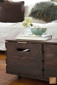 DIY Storage Ottoman - The Home Depot | For the Home ...