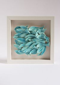 ceramic wall art, fish tile, sculptural pottery wall ...
