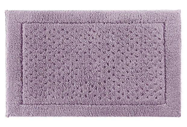 Sublime bath rug lavender frost