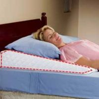 Sleep wedge pillow - helps acid reflux sleep apnea